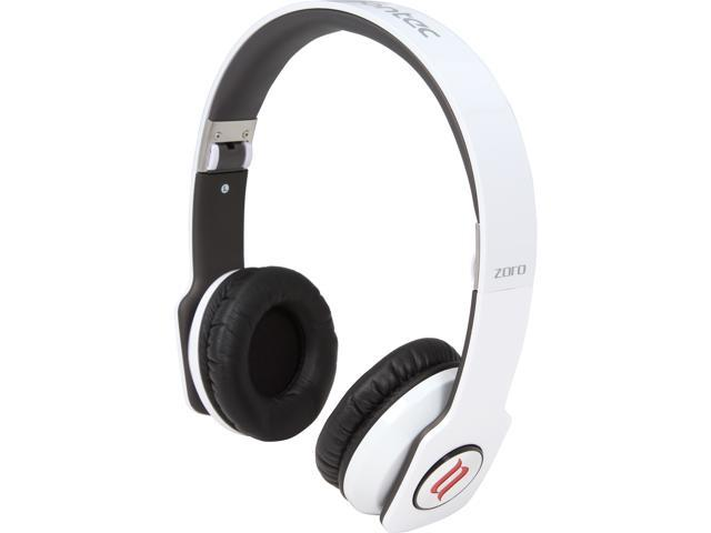 noontec White 3.5mm ZORO High Fashion Steel Reinforced SCCB Sound Technology Headphones ZORO-WHT