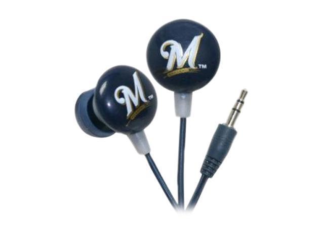 IHIP MLF10169MIL Milwaukee Brewers Earphones
