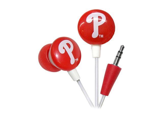 IHIP Red MLF10169PHL Earbud MLB Philadelphia Phillies Earphones
