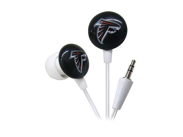 IHIP White NFF10200ATL Atlanta Falcons Mini Ear Buds