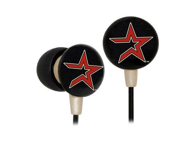 IHIP MLB Houston Astros MLF10169HOU 3.5mm Connector Earbud Earphone