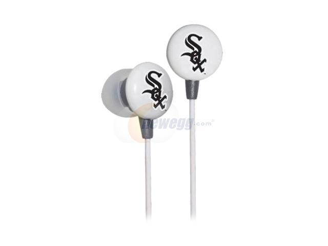IHIP MLB Chicago White Sox  MLF10169CWS 3.5mm Connector Earbud Earphone