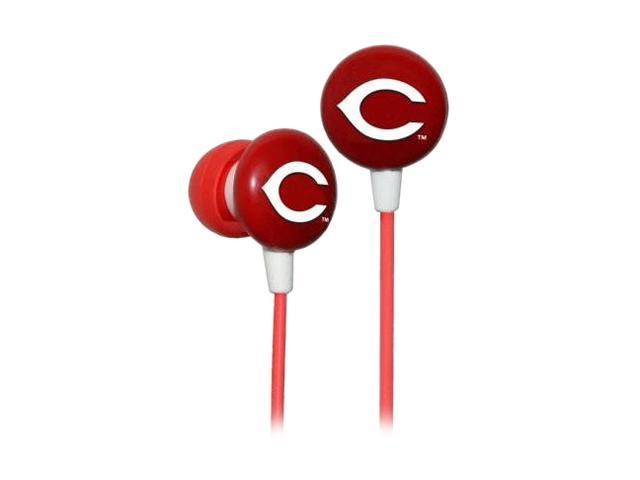 IHIP MLB Cincinnati Reds MLF10169CIN 3.5mm Connector Earbud Earphone
