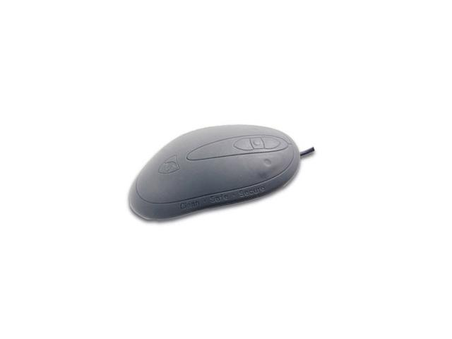 SEAL SHIELD Silver Seal Ergo SSMSV5 Black Wired Mouse