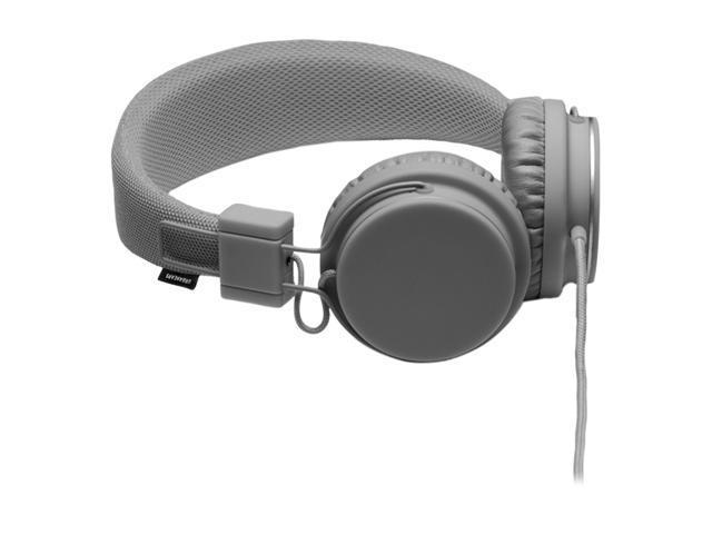 Urbanears Dark Gray Plattan 3.5mm Connector Circumaural Headset w/ 3.5mm Stereo Plug / Microphone