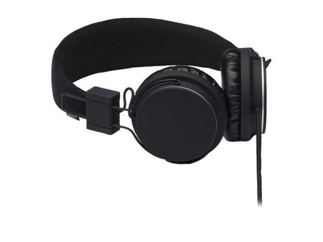 Urbanears Black Plattan 3.5mm Connector Circumaural Headset w/ 3.5mm Stereo Plug / Microphone