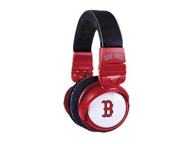 BiGR Audio XLMLBBRS2 Over-Ear Boston Red Sox Headphones with In-Line Mic