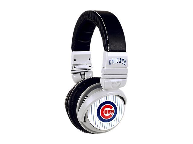 BiGR Audio XLMLBCC1 Over-Ear Chicago Cubs Headphones with In-Line Mic