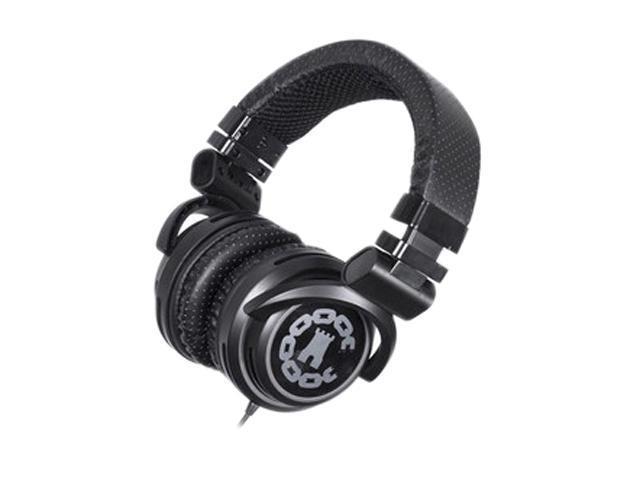BiGR Audio Black XLCC1 3.5mm Connector Circumaural Crooks & Castles Headphone