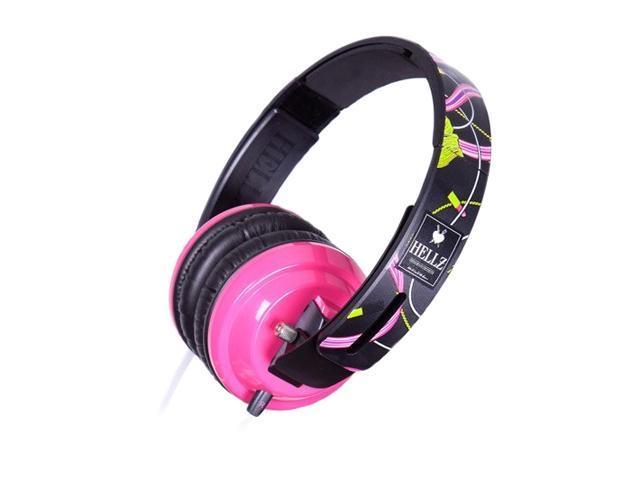 BiGR Audio XLHB1 3.5mm Connector Circumaural Hellz Bellz Headphone