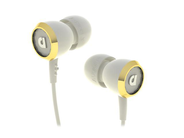 Audiofly 33 Series Corset White AF331102 3.5mm Connector In-Ear Headphone w/Microphone Corset White