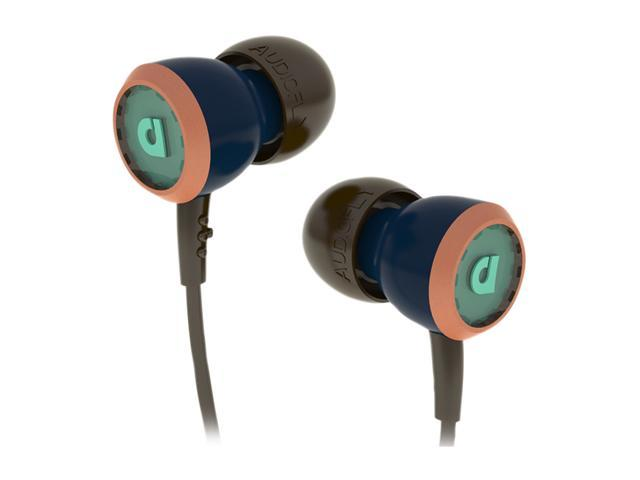 Audiofly 33 Series Selvage Blue AF331103 3.5mm Connector In-Ear Headphone w/Microphone Selvage Blue