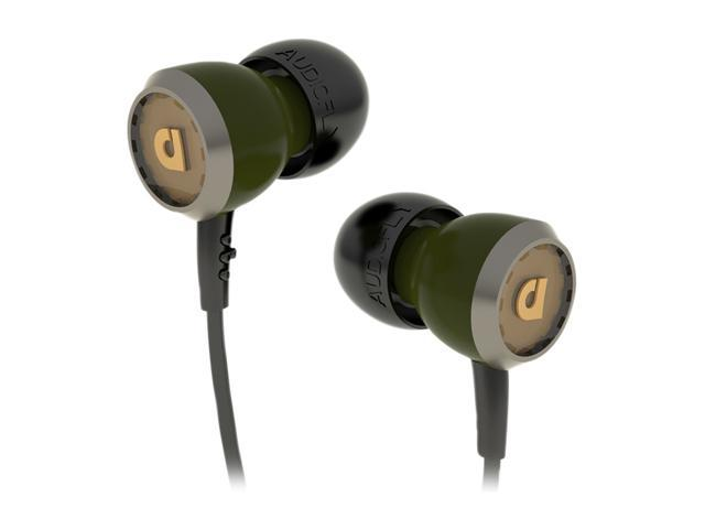 Audiofly 33 Series IshGreen AF331105 3.5mm Connector In-Ear Headphone w/Microphone IshGreen