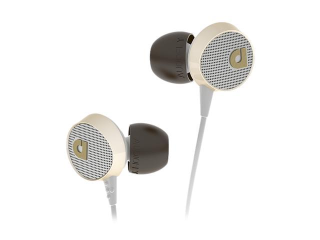 Audiofly 56 Series Vintage White AF561002 3.5mm Connector In-Ear Headphone Vintage White