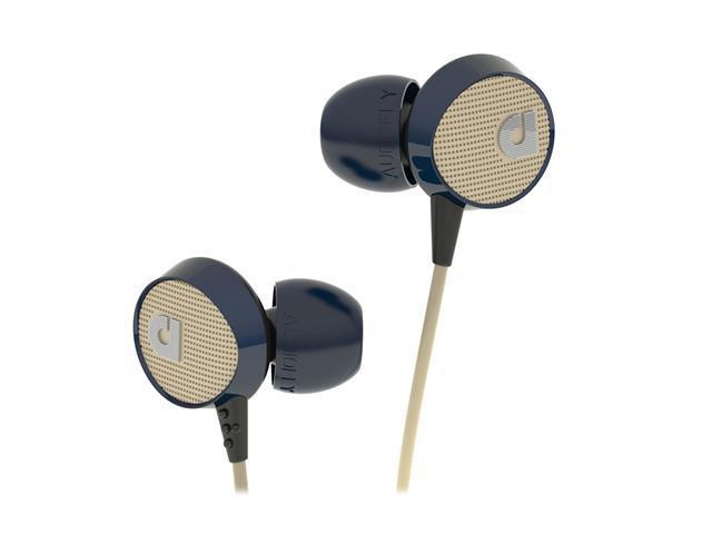 Audiofly 56 Series Blue AF561103 In-Ear Headphone w/Microphone Blue Tweed