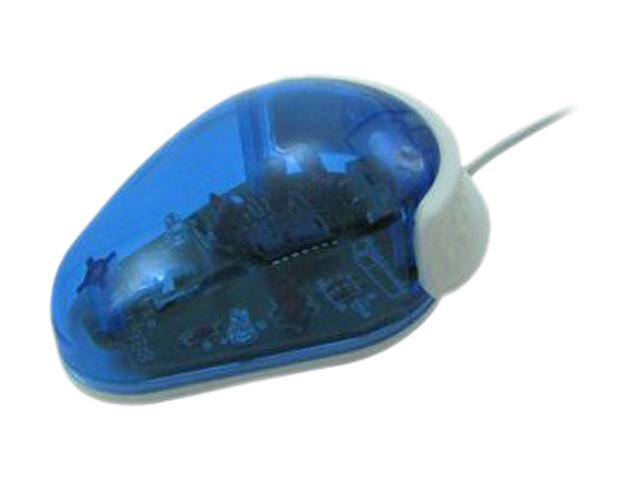Ergoguys RTM-081 Blue 1 Buttons USB Wired Optical One Button Kids Computer Mouse