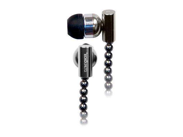 Ecko EKU-CHN-BK Canal Chain Ear Buds - Black