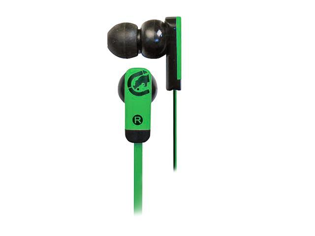 Ecko EKU-ZNE-GRN 3.5mm Connector Canal Zone Ear Buds - Green