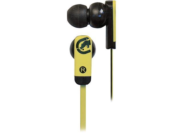 Ecko EKU-ZNE-YLW 3.5mm Connector Canal Zone Ear Buds - Yellow