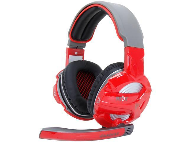 GAMDIAS Hebe GHS2300 3.5mm Gaming Headset, Smart In-Line Remote, Rotating Microphone Boom