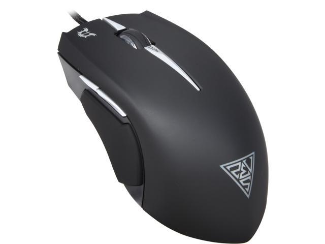 GAMDIAS Erebos GMS7500 Optical Gaming Mouse, 3 Set Adjustable Side Panels Weight System, 8 Buttons, 3500 DPI for PC