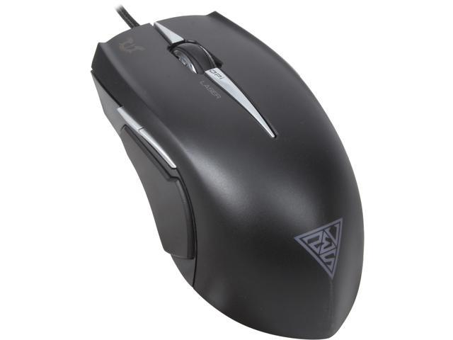 GAMDIAS Erebos GMS7510 Laser Gaming Mouse 3 Set Adjustable Side Panels Weight System, 7 Buttons, 8200 DPI for PC