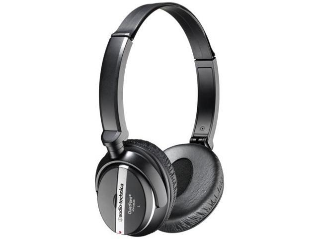 Audio-Technica ATH-ANC25 Supra-aural QuietPoint Active Noise-cancelling Headphone