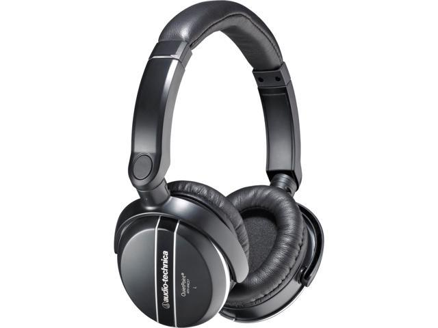 Audio-Technica ATH-ANC27 3.5mm/ 6.3mm Connector Circumaural QuietPoint Active Noise-cancelling Headphone