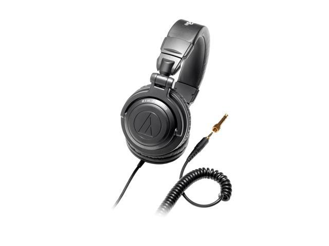 Audio-Technica ATH-PRO500BK 3.5mm Connector Circumaural Professional DJ Monitor Headphone