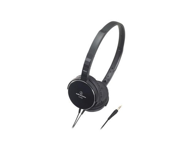 Audio-Technica ATH-ES55BK On-Ear Headphone - Black