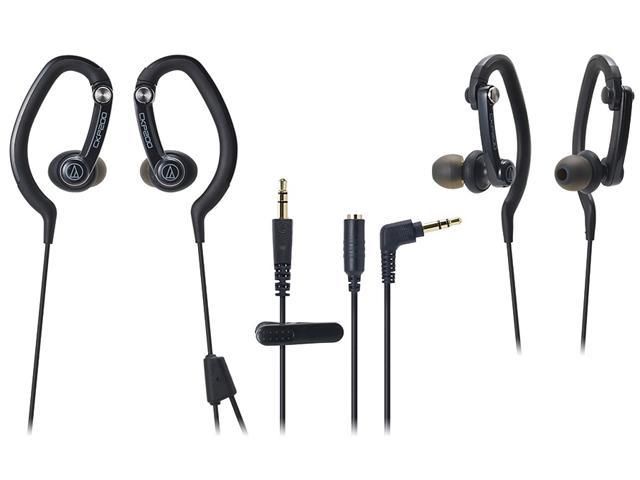 Audio-Technica ATH-CKP200 SonicSport In-ear Headphones - Black