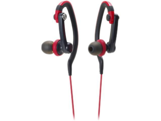 Audio-Technica ATH-CKP200 SonicSport In-ear Headphones - Red