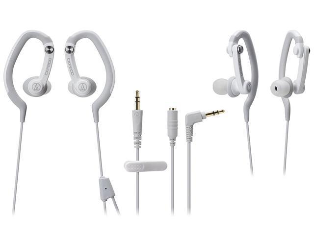 Audio-Technica ATH-CKP200 SonicSport In-ear Headphones - White