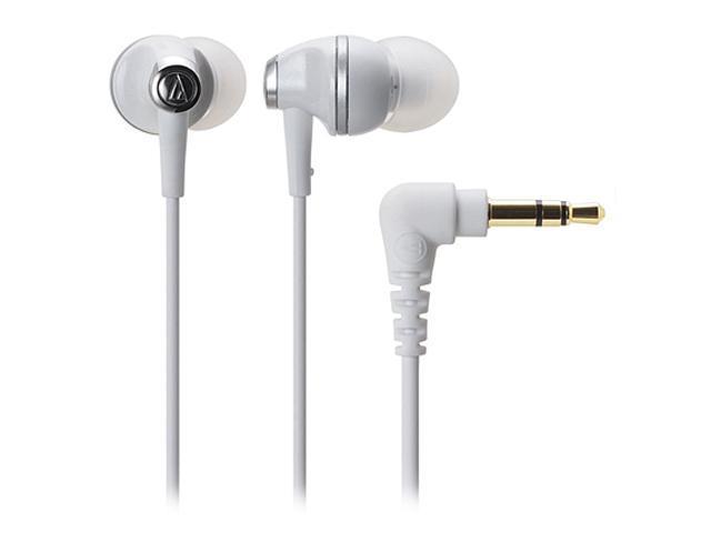 Audio-Technica White ATH-CK313MWH Binaural Headphone/Headset