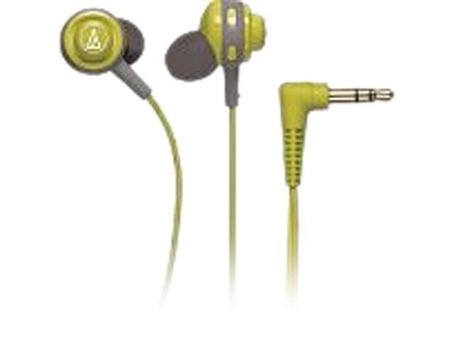 Audio-Technica ATH-COR150 Core Bass In-Ear Headphones - Lime Green