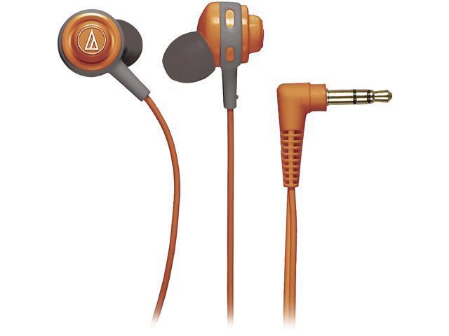 Audio-Technica ATH-COR150 Core Bass In-Ear Headphones - Orange