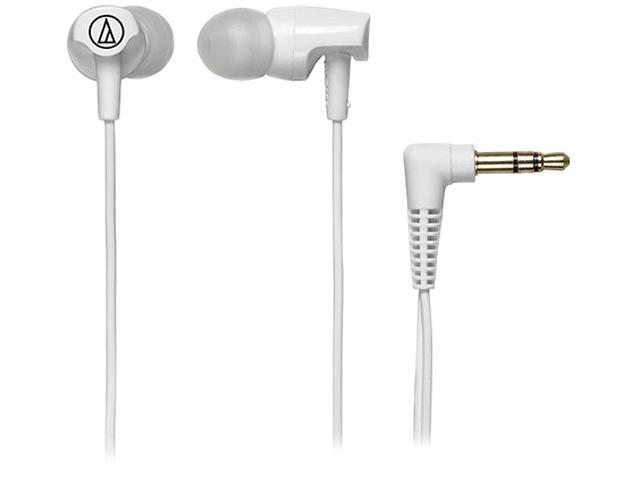Audio-Technica ATH-CLR100 Clear In-Ear Headphones - White