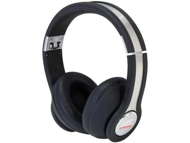 MTX  StreetAudio iX1 On-Ear Acoustic Monitor Headphones - Black