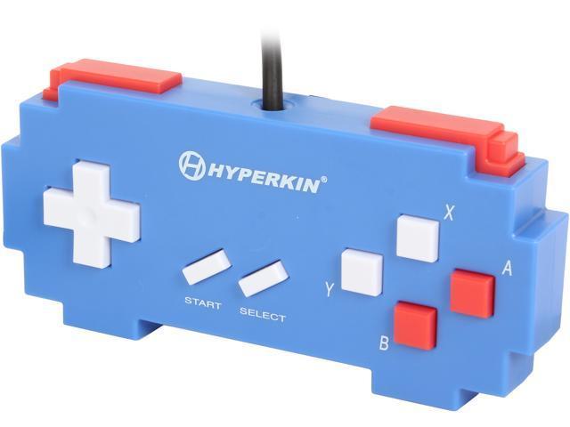 Hyperkin 813048014218 Pixel Art Controller for PC/Mac-Blue