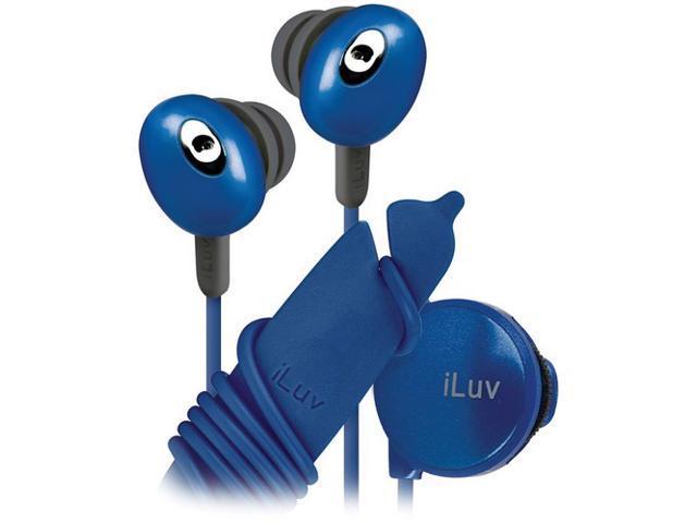 iLuv IEP311BLU Earbud Stereo Earphone