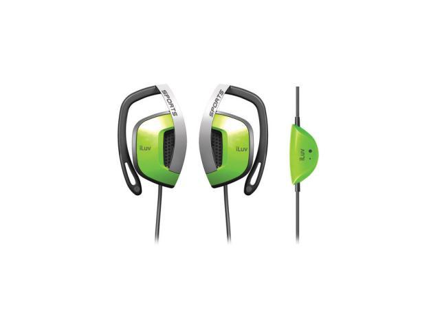 iLuv I303BLK Sports Stereo Earphone