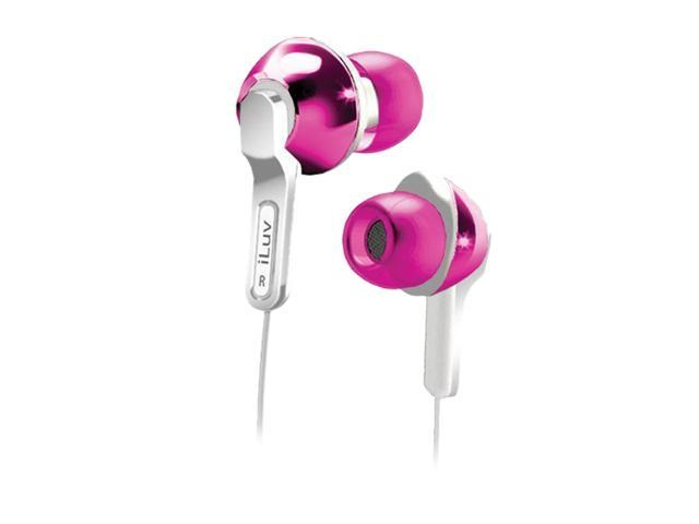 iLuv iEP322 (Pink)  Empire City Lights In-Ear Earphones