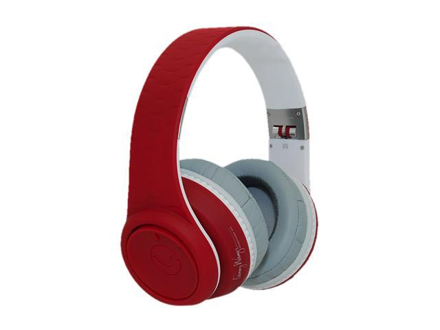 Fanny Wang Red/White FW-2003-RED-WHI Over-Ear Headphone (Red/White)