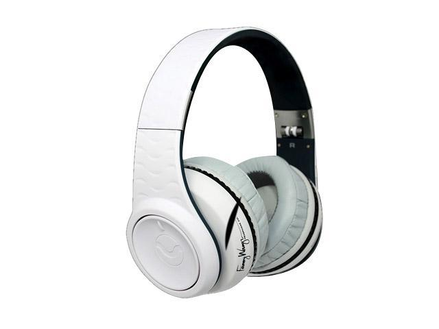 Fanny Wang White FW-3003-WHITE 3.5mm Connector Over-Ear Active Noise Cancelling Headphone (White)