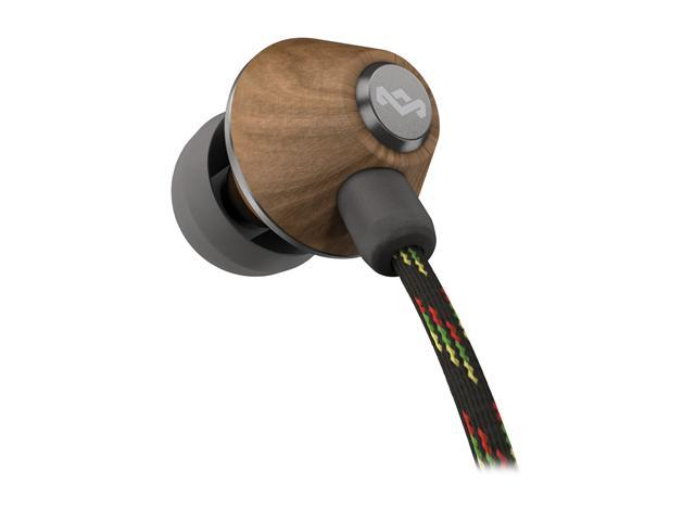 House of Marley People Get Ready Midnight EM-JE010-MI 3.5mm Connector In-Ear Headphone (Midnight)
