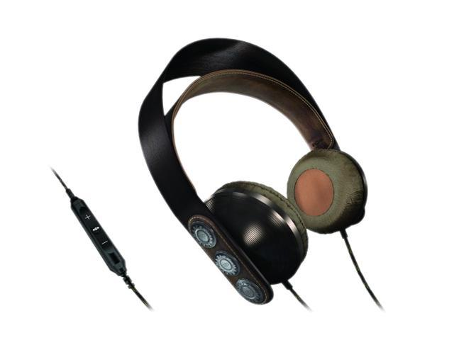 House of Marley EM-FH003-HA 3.5mm/ 6.3mm Connector On-Ear Exodus Headphone w/ Mic & 3-Button Controller