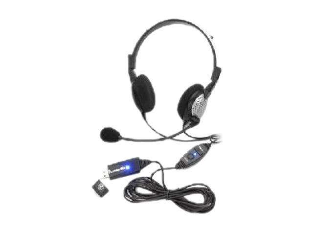 Andrea NC-185 VM USB USB Connector Circumaural Headset
