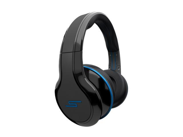 SMS Audio Black SMS-WD-BLK Over-Ear STREET by 50 Wired Headphone