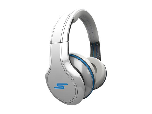 SMS Audio White SMS-WD-WHT 3.5mm Connector Over-Ear STREET by 50 Wired Headphone