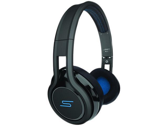 SMS Audio STREET by 50 Black SMS-ONWD-BLK Wired On-Ear Headphones